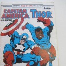 Cómics: MARVEL TWO IN ONE - CAPITAN AMERICA-THOR- Nº 72 1992 FORUM MUCHOS MAS A LA VENTA PIDE FALTAS CX34. Lote 186347181