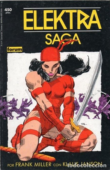 COLECCIÓN PRESTIGIO VOL.1 Nº 7 - FORUM. ELEKTRA SAGA. TOMO IV: RESURRECCIÓN. FRANK MILLER. (Tebeos y Comics - Forum - Prestiges y Tomos)