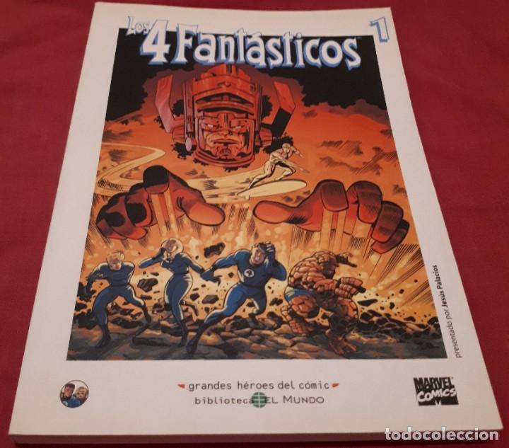 LOS 4 FANTÁSTICOS 1 GRANDES HÉROES DEL CÓMIC Nº 35 (Tebeos y Comics - Forum - 4 Fantásticos)