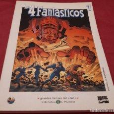 Cómics: LOS 4 FANTÁSTICOS 1 GRANDES HÉROES DEL CÓMIC Nº 35. Lote 186365622