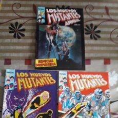 Cómics: LOS NUEVOS MUTANTES AÑO 1986 N-1-2-ANUAL. Lote 187147785