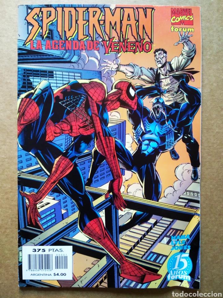 SPIDERMAN: LA AGENDA DE VENENO (FORUM, 1999). POR HAMA Y LUKE. 44 PÁGINAS A COLOR. (Tebeos y Comics - Forum - Spiderman)