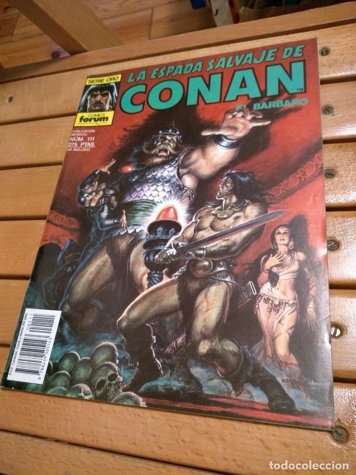 LA ESPADA SALVAJE DE CONAN # 111 - EXCELENTE ESTADO D8 (Tebeos y Comics - Forum - Conan)