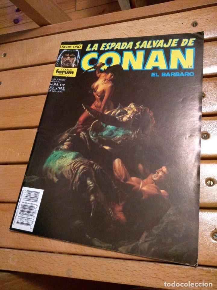 LA ESPADA SALVAJE DE CONAN # 112 - MUY BUEN ESTADO D8 (Tebeos y Comics - Forum - Conan)