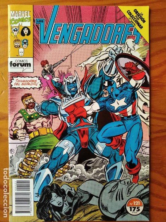 LOS VENGADORES V.1 Nº 121 - MARVEL COMICS FORUM VOLUMEN 1- (Tebeos y Comics - Forum - Vengadores)