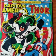 Cómics: CAPITAN AMERICA/ THOR V.1 Nº 54 - FORUM MARVEL TWO-IN-ONE. Lote 187286223