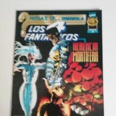 Cómics: LOS 4 FANTASTICOS: HERENCIA MORTIFERA (AÑO 1998). Lote 187287105