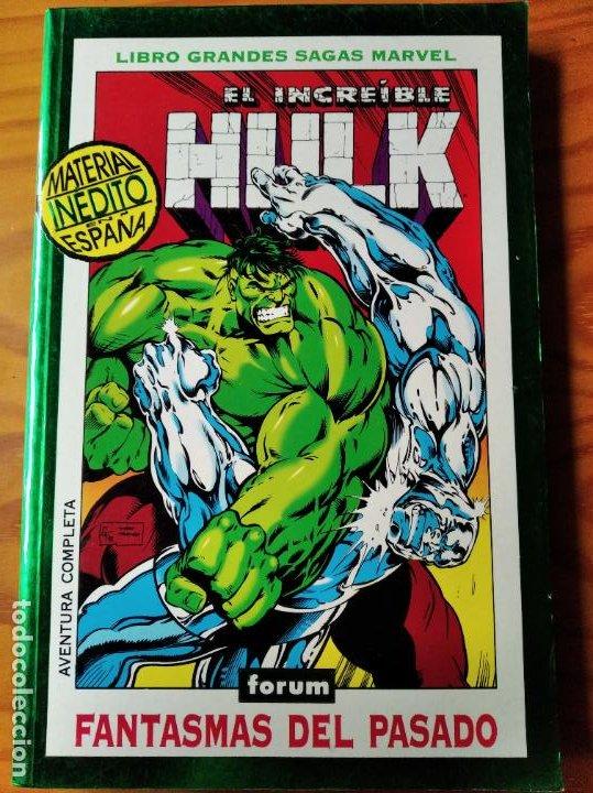 HULK TOMO GRANDES SAGAS MARVEL FANTASMAS DEL PASADO DEL 394 AL 405 USA- ETAPA PETER DAVID/ KEOWN- (Tebeos y Comics - Forum - Hulk)
