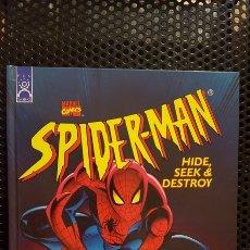 Cómics: CUENTO INFANTIL - SPIDER-MAN (SPIDERMAN) - HIDE, SEEK & DESTROY - HARDCOVER OPEN DOOR BOOK MARVEL. Lote 187319122