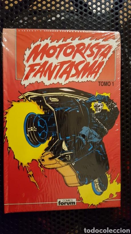 COMIC - EL MOTORISTA FANTASMA - TOMO 1 - COMICS FORUM - DE SALTARES, TEXEIRA. CON EL CASTIGADOR!! (Tebeos y Comics - Forum - Retapados)