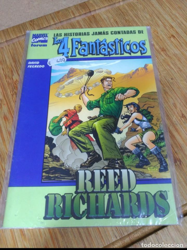 LAS HISTORIAS JAMAS CONTADAS DE LOS 4 FANTÁSTICOS (Tebeos y Comics - Forum - 4 Fantásticos)