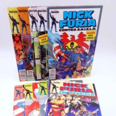 Cómics: NICK FURIA CONTRA SHIELD 1 A 9. COMPLETA (BOB HARRAS / PAUL NEARY) FORUM, 1989. OFRT. Lote 187472382