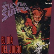 Cómics: SILVER SURFER EL DIA DEL JUICIO. Lote 187494127