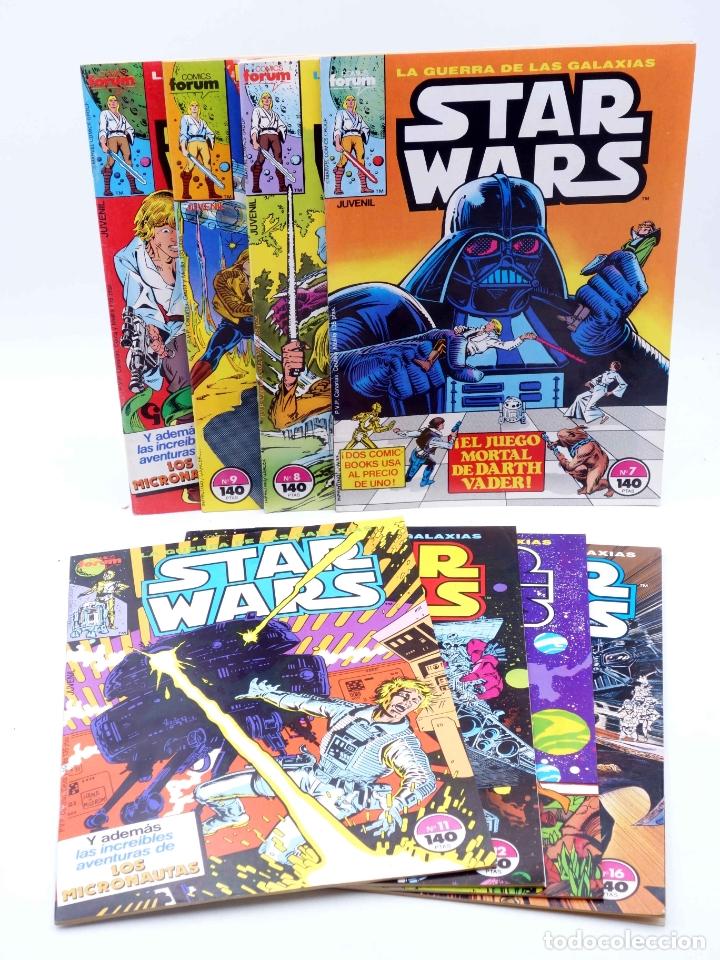 STAR WARS LOTE 2 7 A 12, 15 Y 16. LOTE DE 8. FORUM, 1986. OFRT (Tebeos y Comics - Forum - Otros Forum)