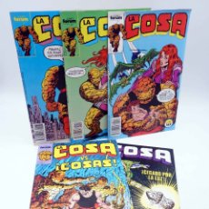 Comics: LA COSA / THE THING 11 12 13 14 16. LOTE DE 5 (CARLIN / BYRNE / WILSON) FORUM, 1990. OFRT. Lote 187515828