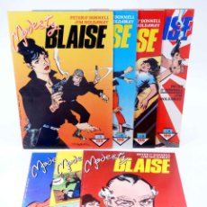 Cómics: MODESTY BLAISE 1 A 7. COLECCIÓN COMPLETA (PETER O' DONELL / JIM HOLDAWAY) FORUM, 1988. OFRT. Lote 227849662
