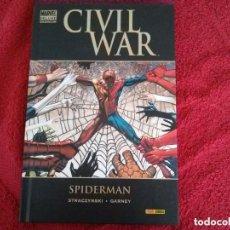 Cómics: CIVIL WAR. SPIDERMAN. STRACZYNSKI - GARNEY . Lote 187582252