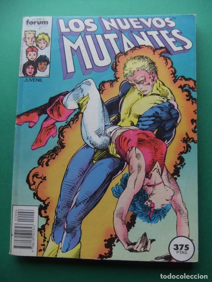 LOS NUEVOS MUTANTES TOMO CON LOS NUMEROS DEL 41 AL 44 FORUM (Tebeos y Comics - Forum - Prestiges y Tomos)