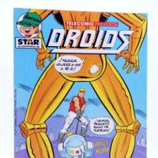 Comics : TELECOMIC PRESENTA DROIDS 25. STAR WARS (CARRAGONE / WILSHIRE) FORUM, 1986. OFRT. Lote 187656277