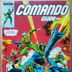 Comics : RETAPADO COMANDO G.I.JOE: NÚMEROS 1-2-3-4-5 DE GIJOE (FORUM, 1987). POR HAMA, TRIMPE Y PERLIN.. Lote 187906468