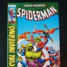 Cómics: DE KIOSCO SPIDERMAN ESPECIAL INVIERNO JOHN ROMITA FORUM EXCELSIOR. Lote 187937732