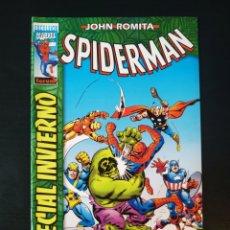 Cómics: DE KIOSCO SPIDERMAN ESPECIAL INVIERNO JOHN ROMITA FORUM EXCELSIOR. Lote 187939410