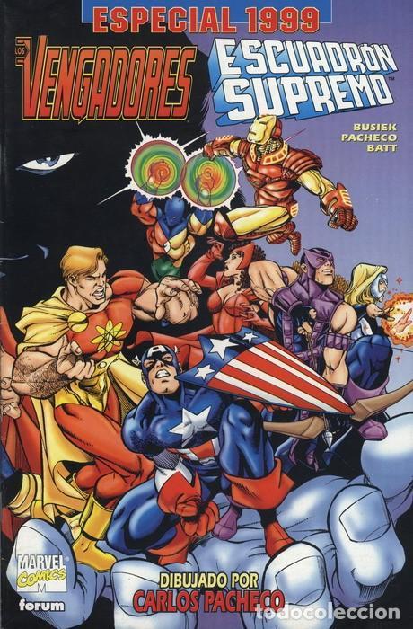 LOS VENGADORES / ESCUADRÓN SUPREMO ESPECIAL 1999 - FORUM (Tebeos y Comics - Forum - Vengadores)