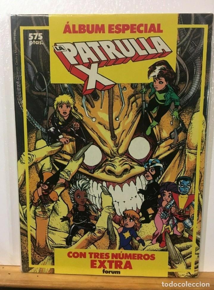 PATRULLA X VOL 1 ALBUM ESPECIAL (ESPECIAL PRIMAVERA 1988 - VERANO 1988 - INVIERNO 1988) FORUM. (Tebeos y Comics - Forum - Patrulla X)