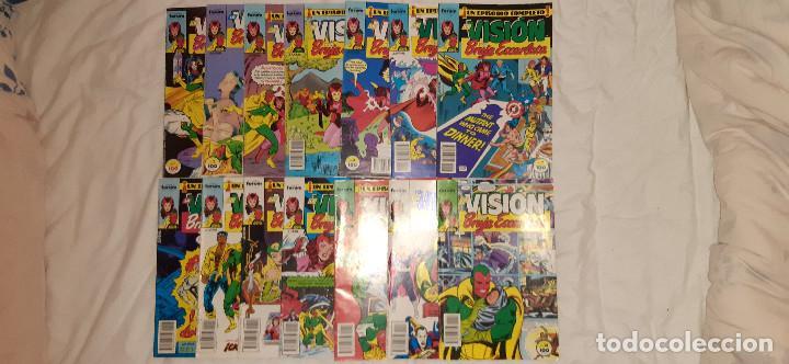 MAXISERIE LA VISION Y LA BRUJA ESCARLATA: 1 AL 14. COMPLETA. COMICS FORUM (Tebeos y Comics - Forum - Vengadores)