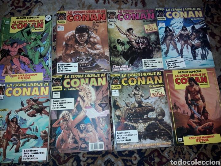 8,COMIC,DE CONAN, CADA CÓMIC 3 NÚMEROS (Tebeos y Comics - Forum - Conan)