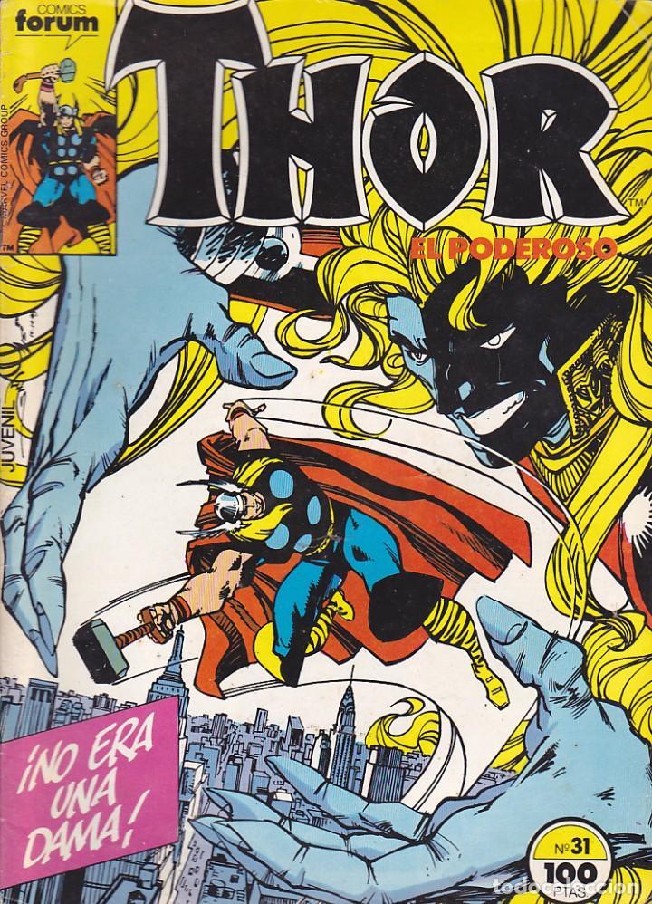 COMIC COLECCION THOR Nº 31 (Tebeos y Comics - Forum - Thor)