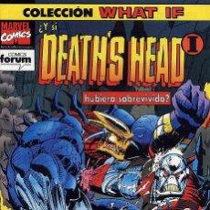 Cómics: WHAT IF VOL.1 Nº62 - ¿Y SI DEATH´S HEAD 1 HUBIERA SOBREVIVIDO? - FORUM. Lote 188722181