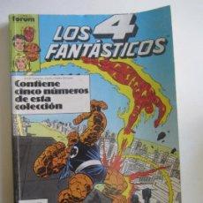 Cómics: LOS 4 FANTÁSTICOS - VOL. 1 - RETAPADO - 5 NÚMEROS (76-77-78-79-80) - FÓRUM SDX16. Lote 230398915