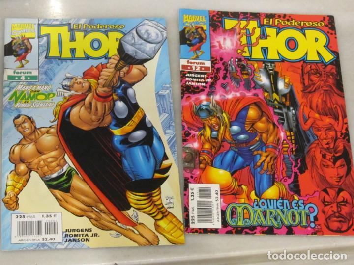 DOS TEBEOS EL PODEROSO THOR Nº 4 Y 12. AÑO 2000 (Tebeos y Comics - Forum - Thor)
