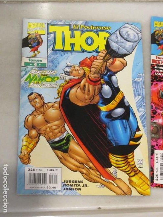 Cómics: Dos Tebeos el poderoso Thor Nº 4 y 12. Año 2000 - Foto 2 - 188748122