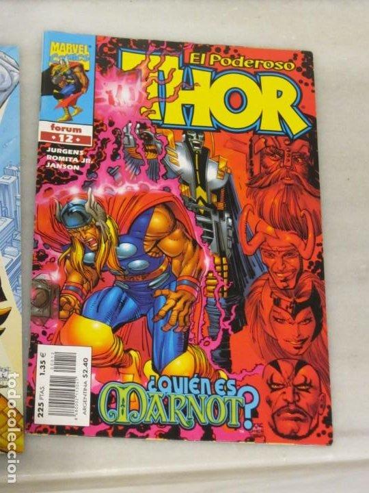 Cómics: Dos Tebeos el poderoso Thor Nº 4 y 12. Año 2000 - Foto 3 - 188748122