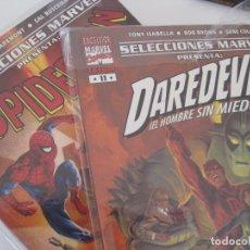 Cómics: SELECCIONES MARVEL PRESENTA-- LOTE DE 10 NÚMEROS : 1 2 7 8 11 12 14 15 16 20 SPIDERMAN.. DAREDEVIL. Lote 188778176