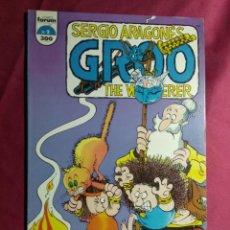 Comics: GROO. THE WANDERER. SERGIO ARAGONÉS. Nº 2. FORUM. Lote 188838545