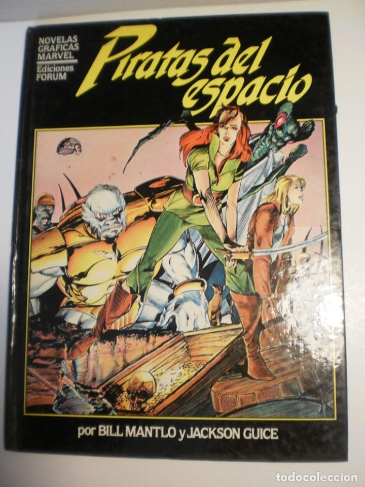 PIRATAS DEL ESPACIO. NOVELAS GRÀFICAS MARVEL. FORUM 1985 TAPA DURA COLOR (ESTADO NORMAL) (Tebeos y Comics - Forum - Otros Forum)