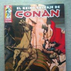 Cómics: REINO SALVAJE DE CONAN. Nº 39 (PENÚLTIMO NÚMERO).. Lote 189191448