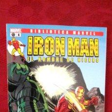 Comics: BIBLIOTECA MARVEL. IRON MAN.EL HOMBRE DE HIERRO. Nº 4.OFERTA. Lote 189288268