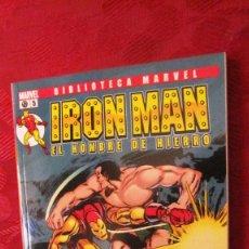 Comics: BIBLIOTECA MARVEL. IRON MAN.EL HOMBRE DE HIERRO. Nº 5.OFERTA. Lote 189288313