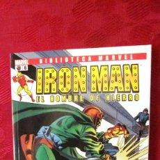 Comics: BIBLIOTECA MARVEL. IRON MAN.EL HOMBRE DE HIERRO. Nº 6.OFERTA. Lote 189288371