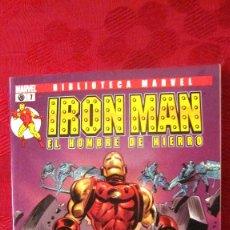 Comics: BIBLIOTECA MARVEL. IRON MAN.EL HOMBRE DE HIERRO. Nº 7.OFERTA. Lote 189288470