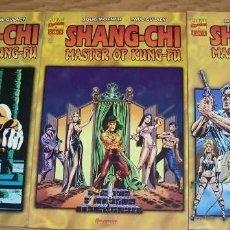 Cómics: SHANG-CHI MASTER OF KUNG-FU - COMPLETA TRES TOMOS. Lote 189320441
