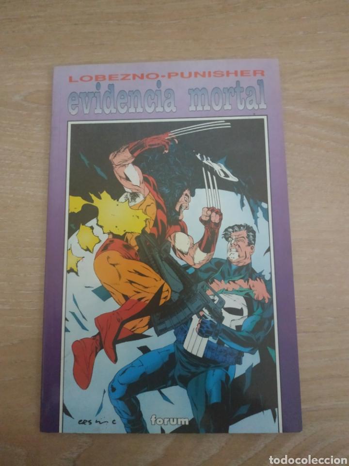 LOBEZNO PUNISHER EVIDENCIA MORTAL (Tebeos y Comics - Forum - X-Men)