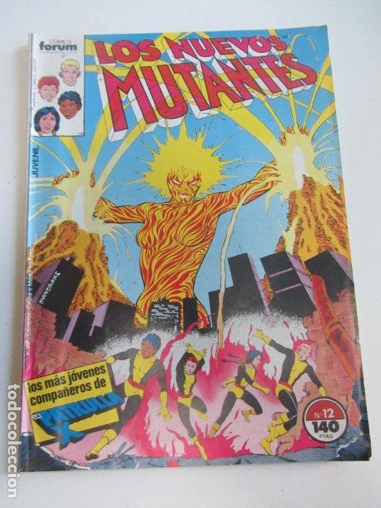 LOS NUEVOS MUTANTES VOL I Nº 12 FORUM MUCHOS MAS A LA VENTA MIRA TUS FALTAS CX36 (Tebeos y Comics - Forum - Nuevos Mutantes)