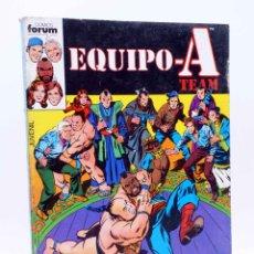 Cómics: EQUIPO A TEAM. SERIE DE TVE. RETAPADO NºS 7 A 12 (SIN ACREDITAR) FORUM, 1987. OFRT. Lote 206464841