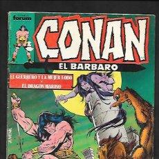 Cómics: CONAN EL BARBARO NUMERO 89. Lote 189593942