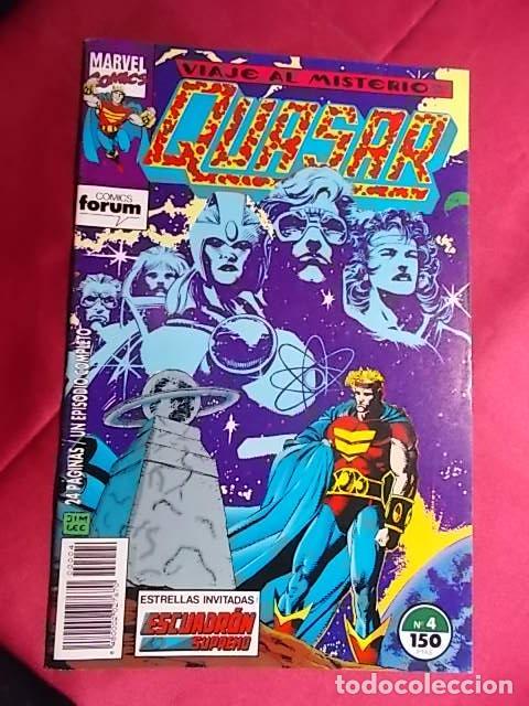 QUASAR. Nº 4. FORUM (Tebeos y Comics - Forum - Otros Forum)